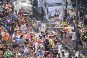 Khaosan Road skips Songkran this year to prepare for coronation. Business operators on Bangkok's famous Khaosan Road have decided to cancel activities for