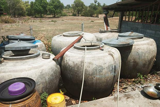 Korat now running out of WATER Korat now running out of WATER and over 300 households in three villages have been running dry for over a week,