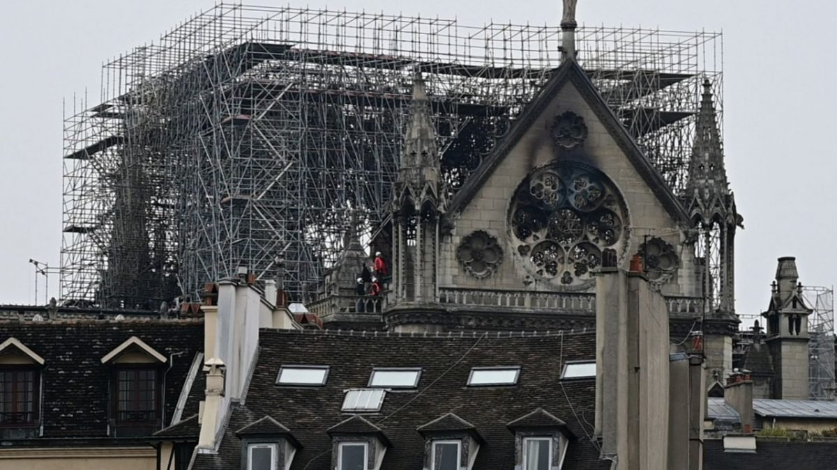 'Like a bombing': Daylight reveals extent of Notre-Dame damage