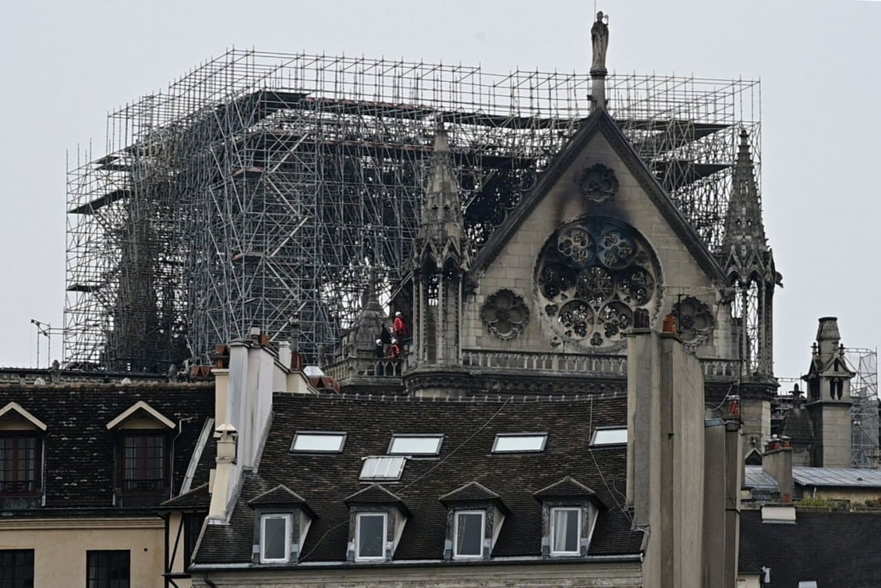 'Like a bombing': Daylight reveals extent of Notre-Dame damage Shards of stained glass from priceless medieval windows. A gaping hole above the choir area