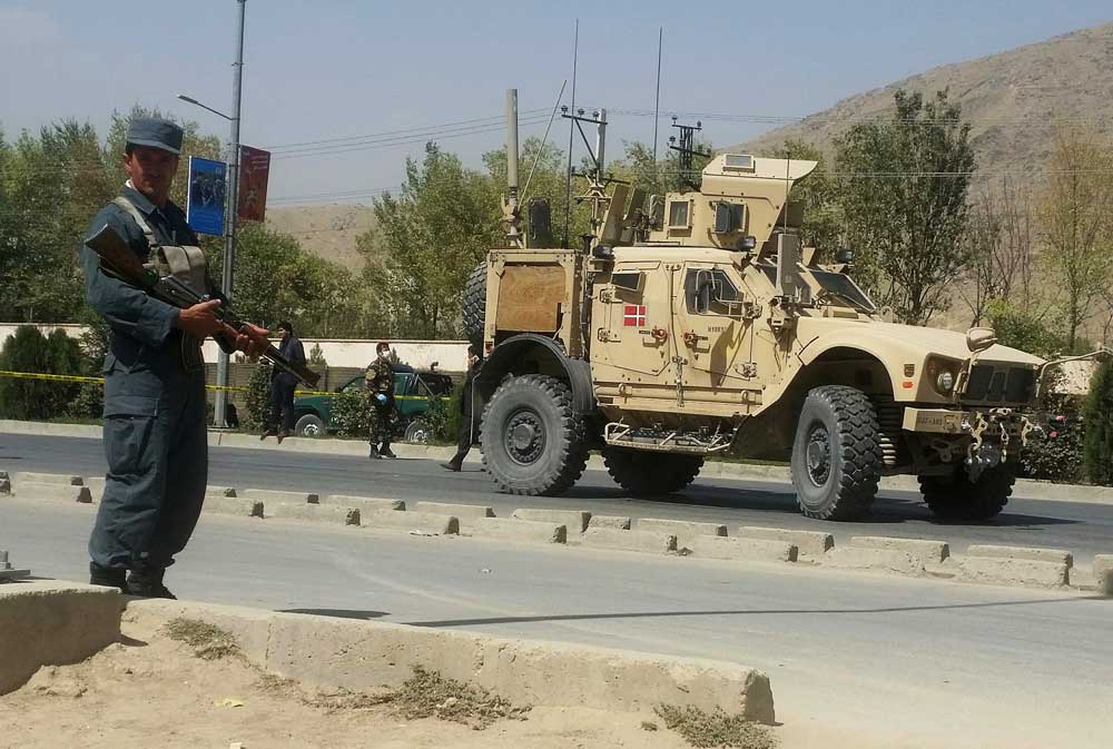 Loud explosion, gunfire rock downtown Kabul in attack near ministry A loud explosion and follow-up gunfire were heard in an ongoing assault near the Afghan