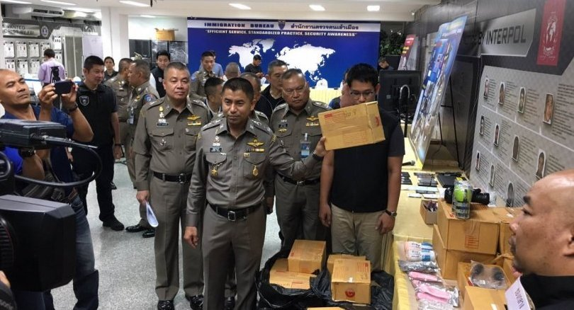 Pathum Thani man arrested over sex drug and toys sales. Police have arrested a man in Pathum Thani and seized 2,500 aphrodisiac pills and sex toys