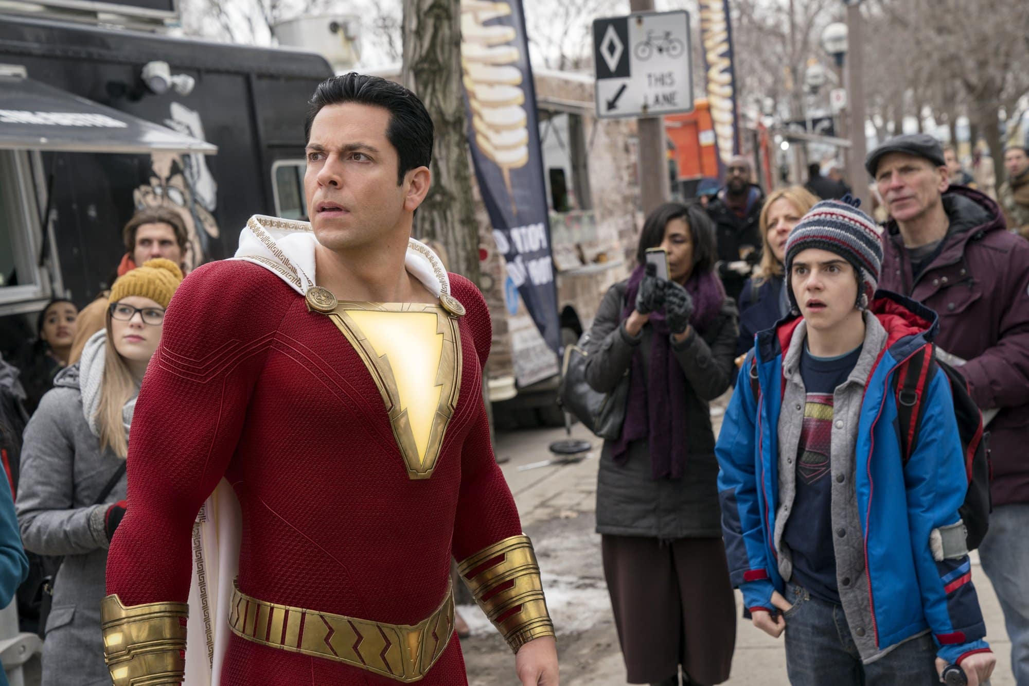 "REVIEW: DC SUPERHERO PIC 'SHAZAM!' IS A JOY … SERIOUSLY. Holy superhero fatigue, Batman, ""Shazam!"" is actually good. OK, so it's basically"