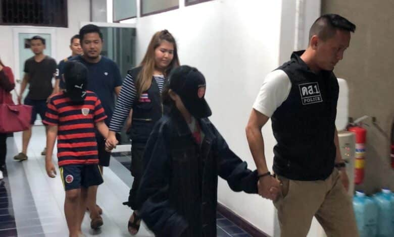 Siblings fleeing 'abusive mother' taken under ministry care. Police on Sunday sent two Thai-Swiss siblings aged 11 and 12, who had run away
