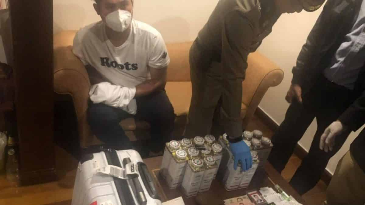 Taiwanese men arrested for drug trafficking