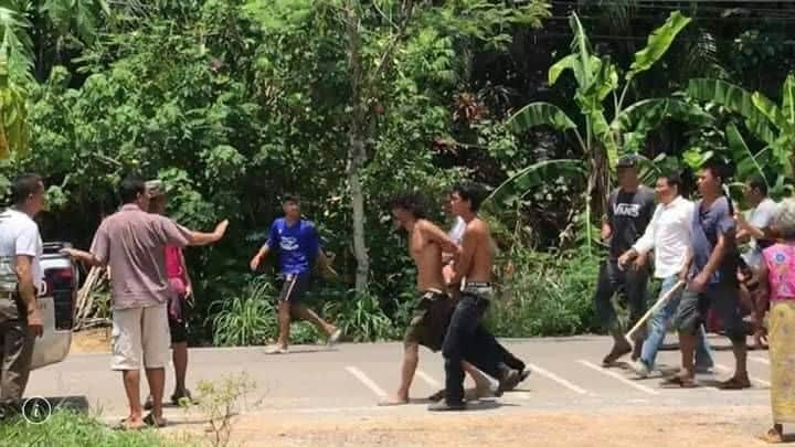 Thai Slasher Kills 82 Year Old Woman A sick and twisted individual was caught by the police yesterday after slashing and 82-year-old woman in Krabi.