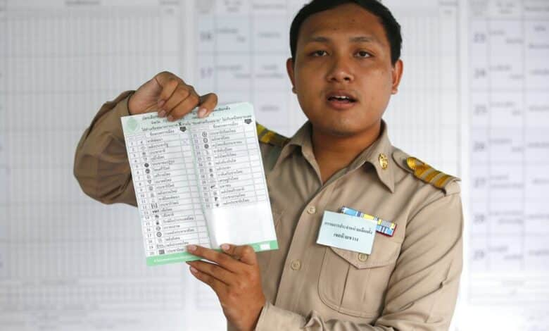 Thai election body orders redo in places over irregularities. Thai election authorities have ordered a recount of votes and new elections in some