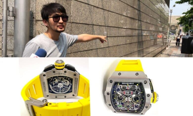 Thai man robbed of Bt5.2m luxury wristwatch. Police are searching for a daring robber after a Thai man was robbed of a Bt5.2 million luxury wristwatch at a