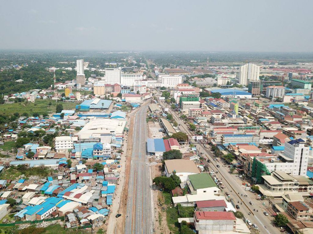 Thailand – Cambodia railway to open this month The 1·3 km cross-border Thailand Cambodia railway which was completed last year is to be opened on