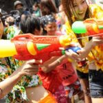 Songkran water fight reminder Meanwhile, at home and in Pattaya,  police have done the rounds of entertainment venues, marking