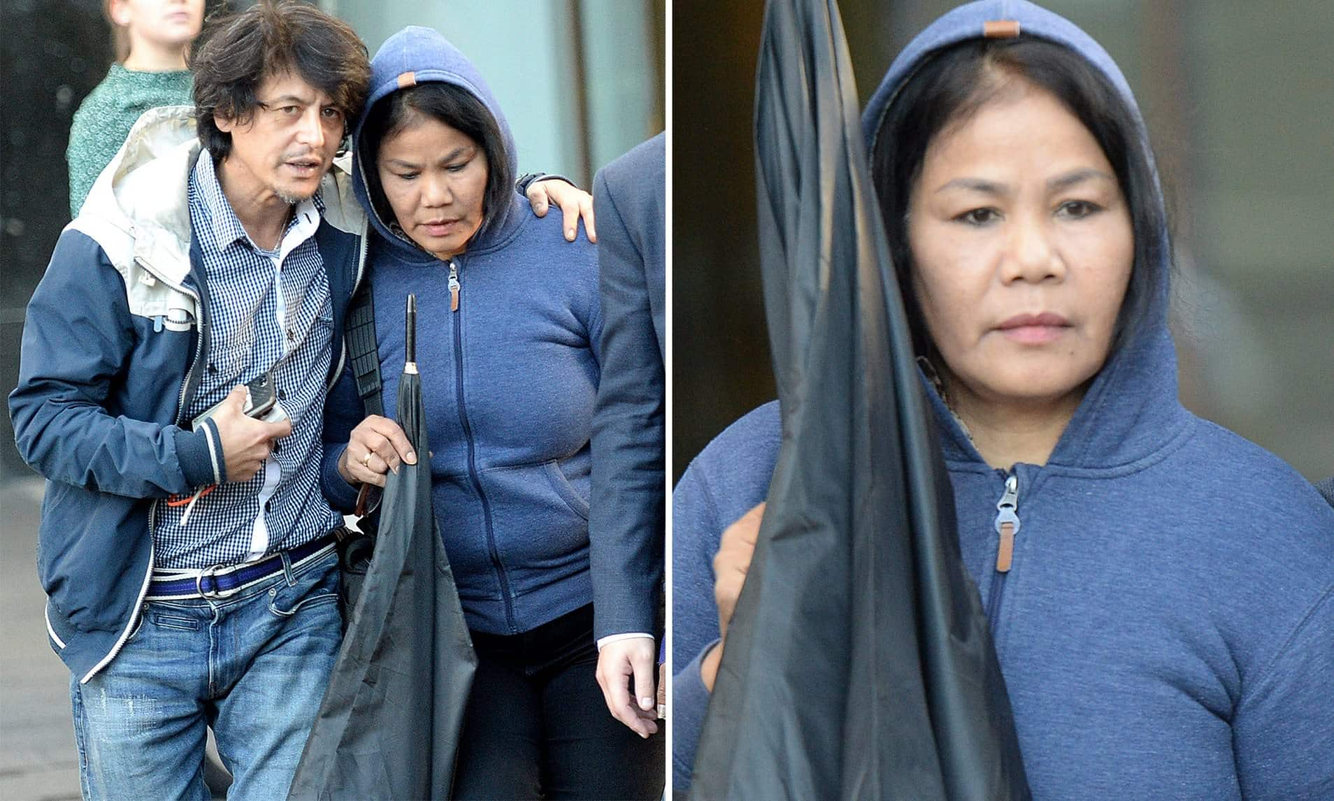 Woman accused of keeping two Thai women as sex slaves The woman accused of keeping two Thai women as slaves 'and forcing them to perform sex work