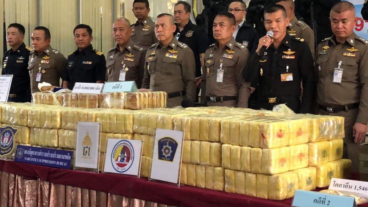 300 million meth pills seized in six months. The Office of Narcotics Control Board (ONCB) has intercepted more than 300 million methamphetamine pills