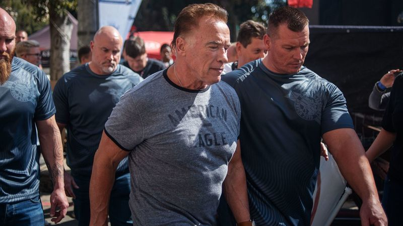Video: Arnold Schwarzenegger attacked in South Africa