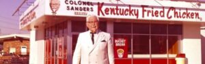 At age 65 Colonel Sanders created the second largest restaurant chain in the world. After many failures this chef glimpsed the success.