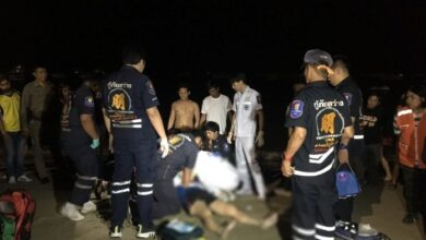 Attempted murder on Pattaya Beach? Chinese tourist in hospital. Police in Pattaya are investigating after a Cambodian man found his Chinese tourist.