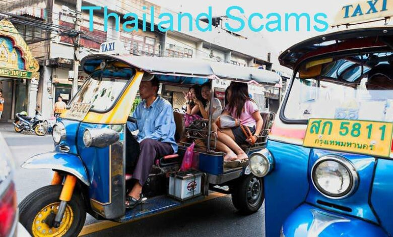 Bangkok tuk-tuk rip-off driver is FINED. A tuk-tuk driver who charged three American tourists 500 baht each for a trip has apologised for his actions and
