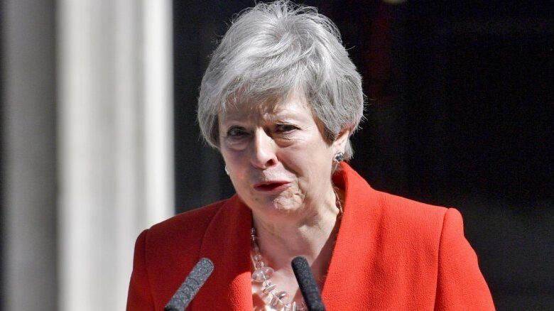 Watch : British PM May announces resignation in emotional speech. British Prime Minister Theresa May on Friday announced in an emotional address that she