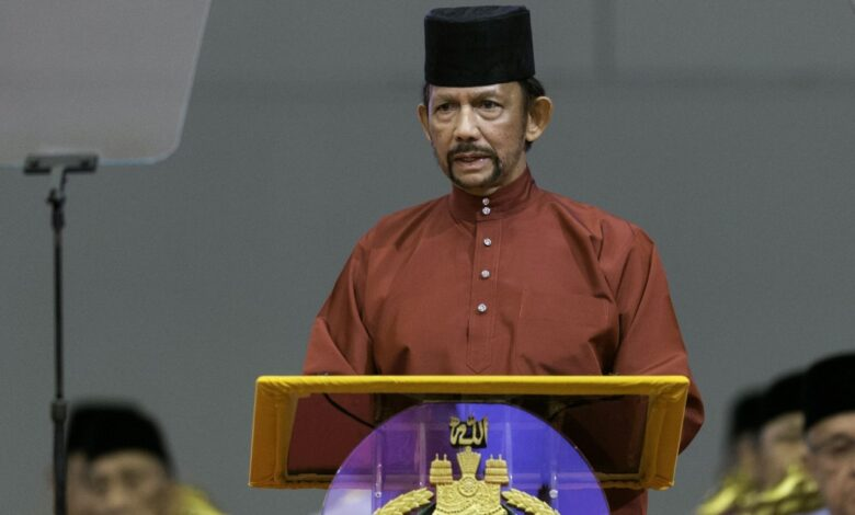 Brunei won't enforce gay sex death penalty after backlash. Brunei's sultan has announced death by stoning for gay sex and adultery will not be enforced