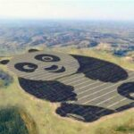 China has built a panda-shaped solar power plant. Because caring for the planet does not have to be boring.The Chinese authorities have focused