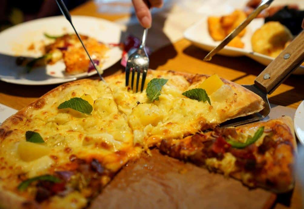 DURIAN PIZZA – And you thought things couldn't get. If you think putting pineapple on pizza is just wrong, you may shudder at what they are doing to