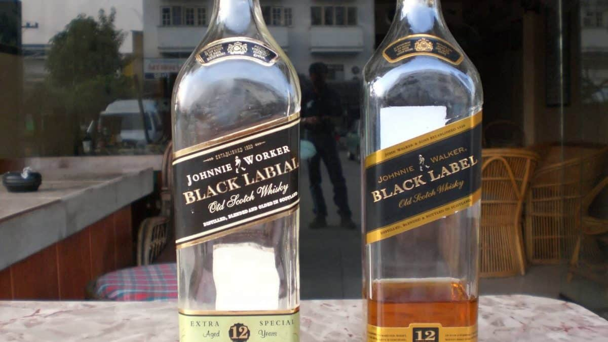 Dangerous fake Johnny Walker heading for Bangkok