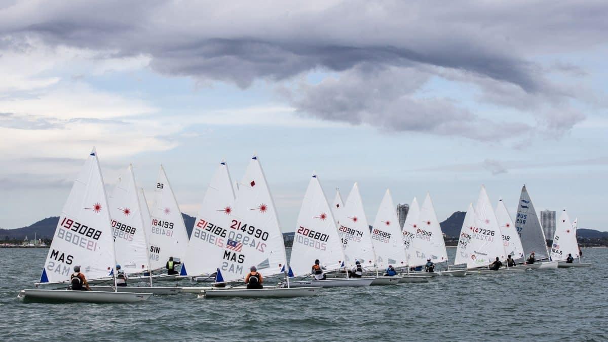 Festival of sail with 12 classes racing on Day 2 of Top of the Gulf Regatta 2019