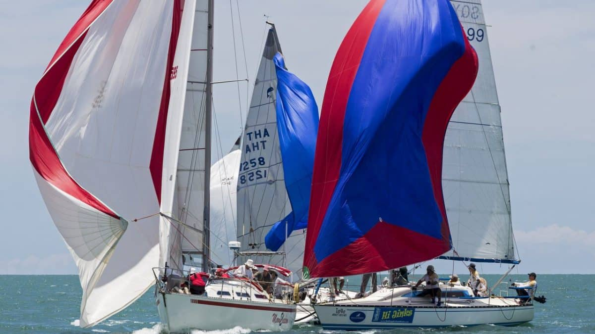 Good winds deliver a busy Day 3 at the 2019 Top of the Gulf Regatta