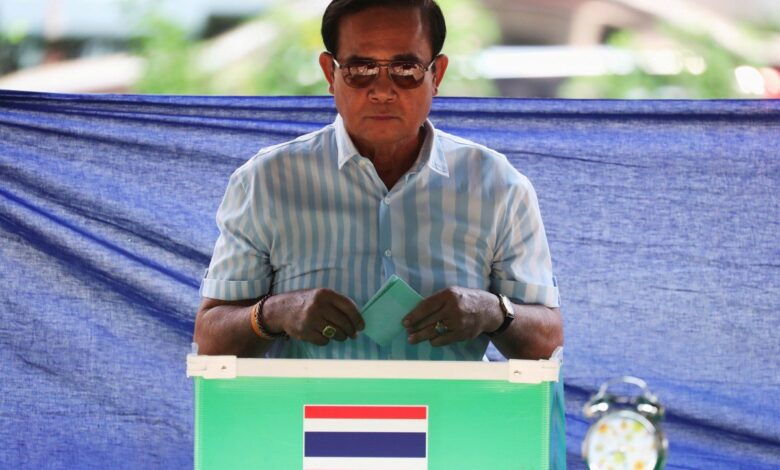 Deal being cut to appoint Junta chief Thailand's new Prime Minister. Two Thai political parties were meeting leaders of a pro-army party on Monday to