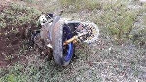 Graphic Video: Death of a Thai biker at 264 kmph. A helmet cam video being widely shared on Facebook showed the last moments of a Thai big biker on a road