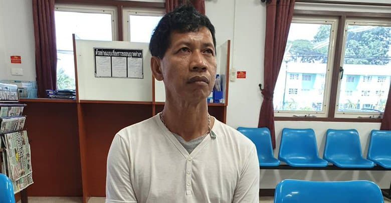 Fake Agent arrested for Employment Fraud. Somnuek Sangbost 52 years old from Phayao Province was arrested by The Crime Suppression Division Police
