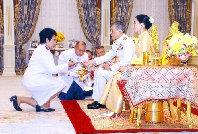 HM KING DONATES 2.4 BILLION BAHT TO HOSPITALS. His Majesty the King on Tuesday donated 2.4 billion baht to 27 public hospitals to purchase new