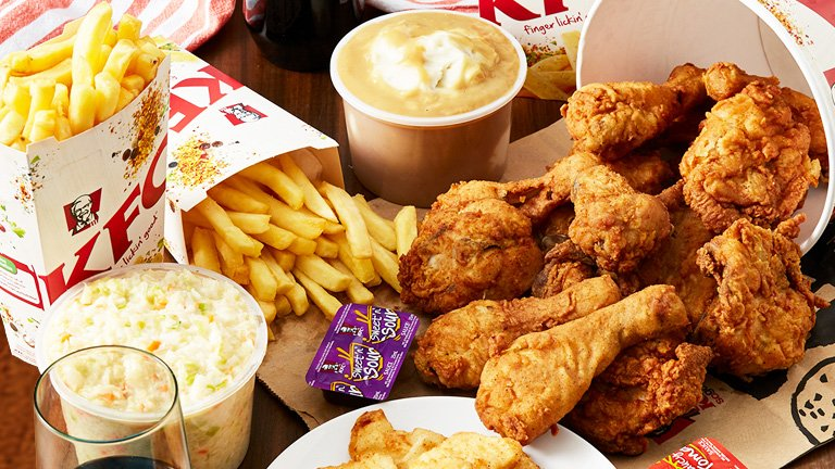 KFC launches temporary menu. KFC Thailand has launched its Double down menu in the United States Sakechai Choomuenwai, vice president of