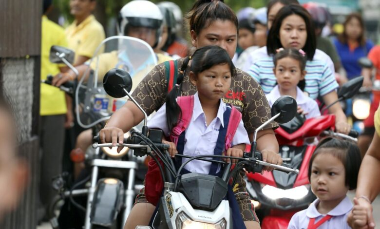 More Thai youngsters dying in road accidents ROAD ACCIDENTS kill more than 17,000 children and teenagers in Thailand every year, the latest statistics show.