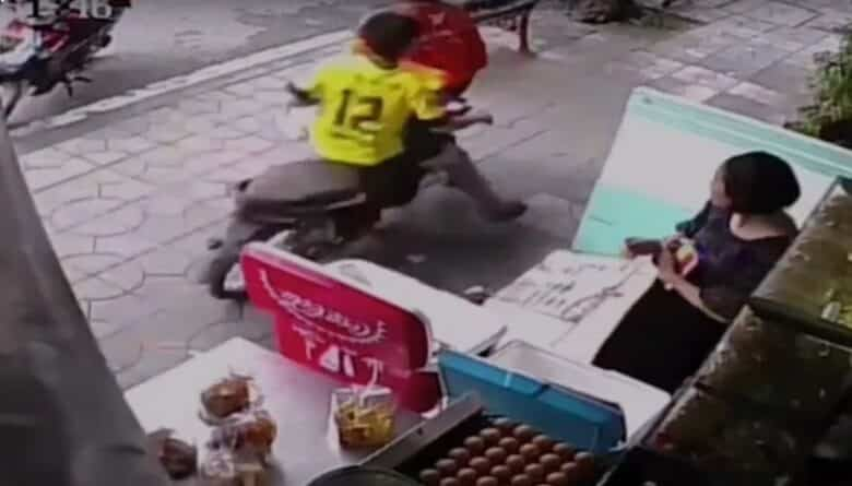 Motorbike hits man on footpath. A 19-year-old motorcycle rider is facing a torrent of public condemnation May 29, 2019 after he hit a 49-year-old