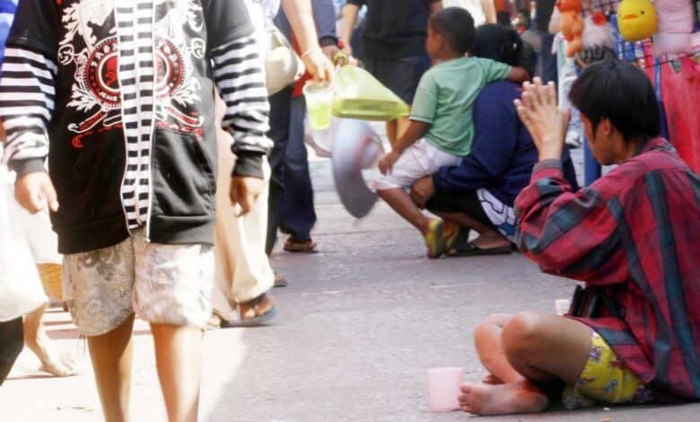 beggars can face fines or jail. So, no one like to have beggars constantly asking for money, especially if the person does not need to beg