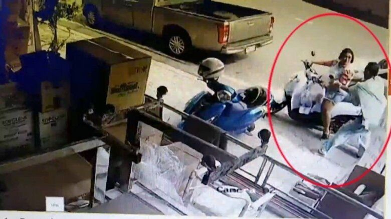Police find motorbike used by escaped convict in Bangkok. Police have found a motorcycle in in Samut Prakan, which is about 22 kilometers from
