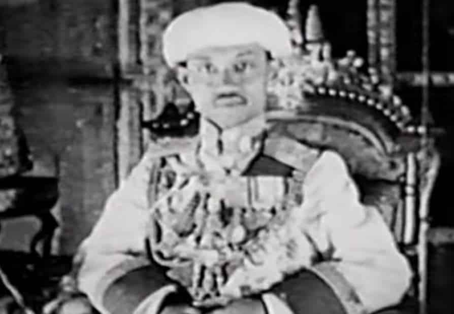Rare footage of 1926 coronation. The 1926 coronation of King Prajadhipok in Thailand marked the first time such a ceremony had ever been captured on film.