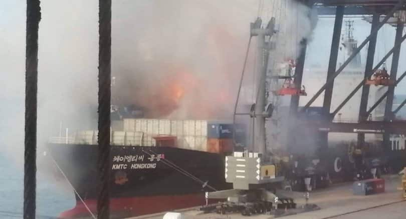 Residents told to remain indoors after 'dangerous chemical' scare at Laem Chabang Port