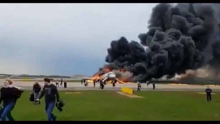 Aeroflot plane fire: Death toll rises to 41, investigators say. At least 41 people died after a Russian Aeroflot Sukhoi Superjet plane made an