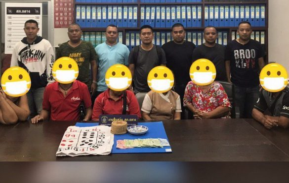 SIX arrested in Thailand for playing Hi Lo. Officers announced that six arrests were made on Saturday (May 4) by a team of officers for the crime