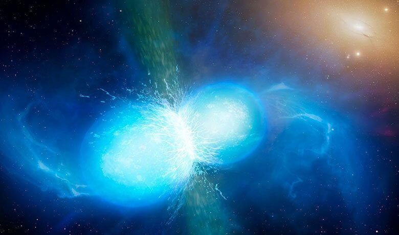 Scientists just observed a crash between two neutron stars. It happened over 500 million years ago, but we just felt it happen here on Earth.On April 25