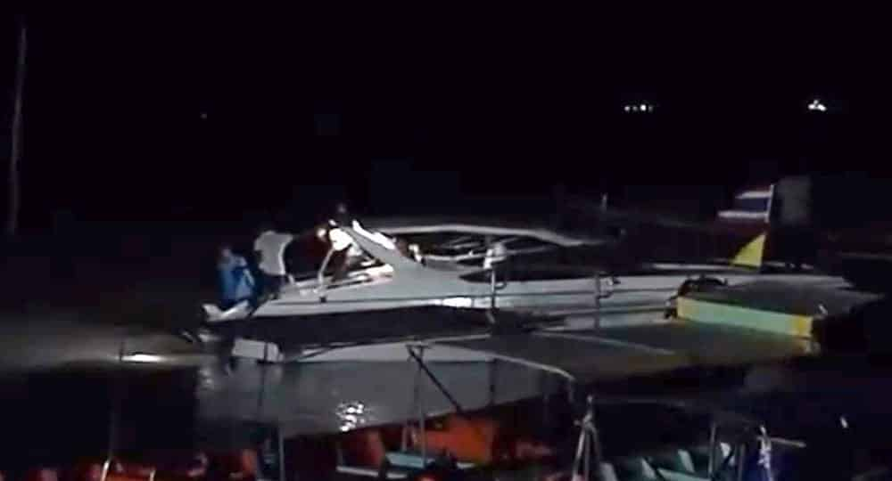 Search resumes for missing British tourist who fell overboard from Samui speedboat. Officials in Koh Samui on Tuesday said that the search for a missing