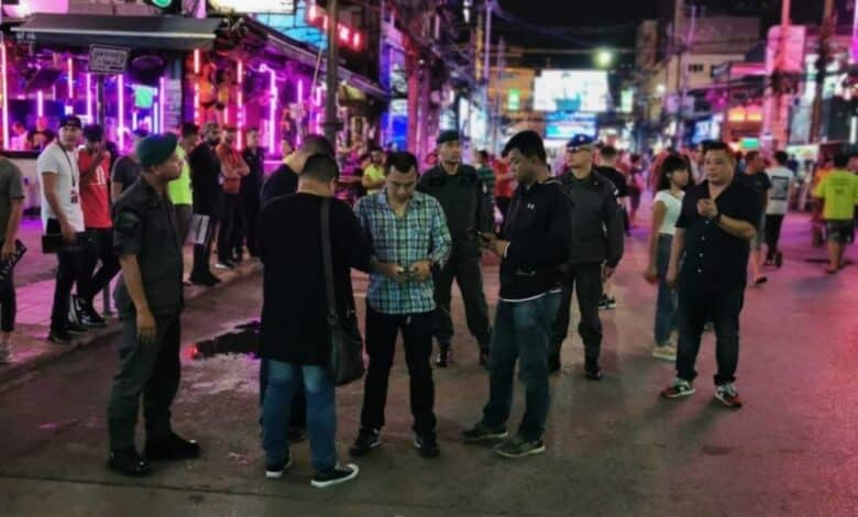 Suspect charged with murder after stabbing at Patong restaurant. A suspect has been charged with murder after allegedly stabbing and killing a staff member