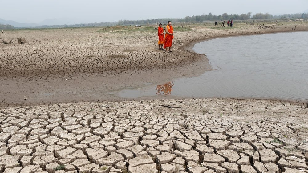 TWELVE Thai provinces affected by SEVERE water shortages