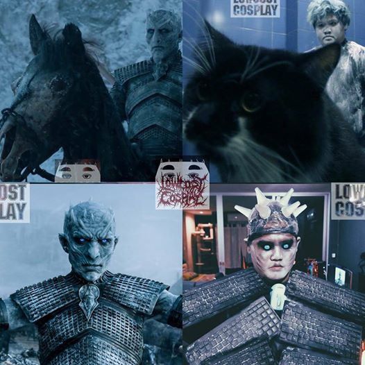 """Thai Cosplayer Makes Hilarious Low-Cost Cosplay of 'Game of Thrones'. Anucha """"Cha"""" Saengchart, the famous Thai cosplayer behind the funny account"""