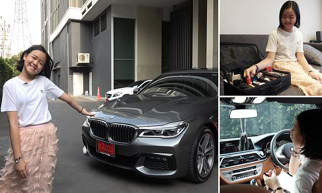 Thai vlogger bought herself a £150k BMW for her TWELFTH birthday. Thai beauty vlogger bought herself a £150k BMW for her TWELFTH birthday – even
