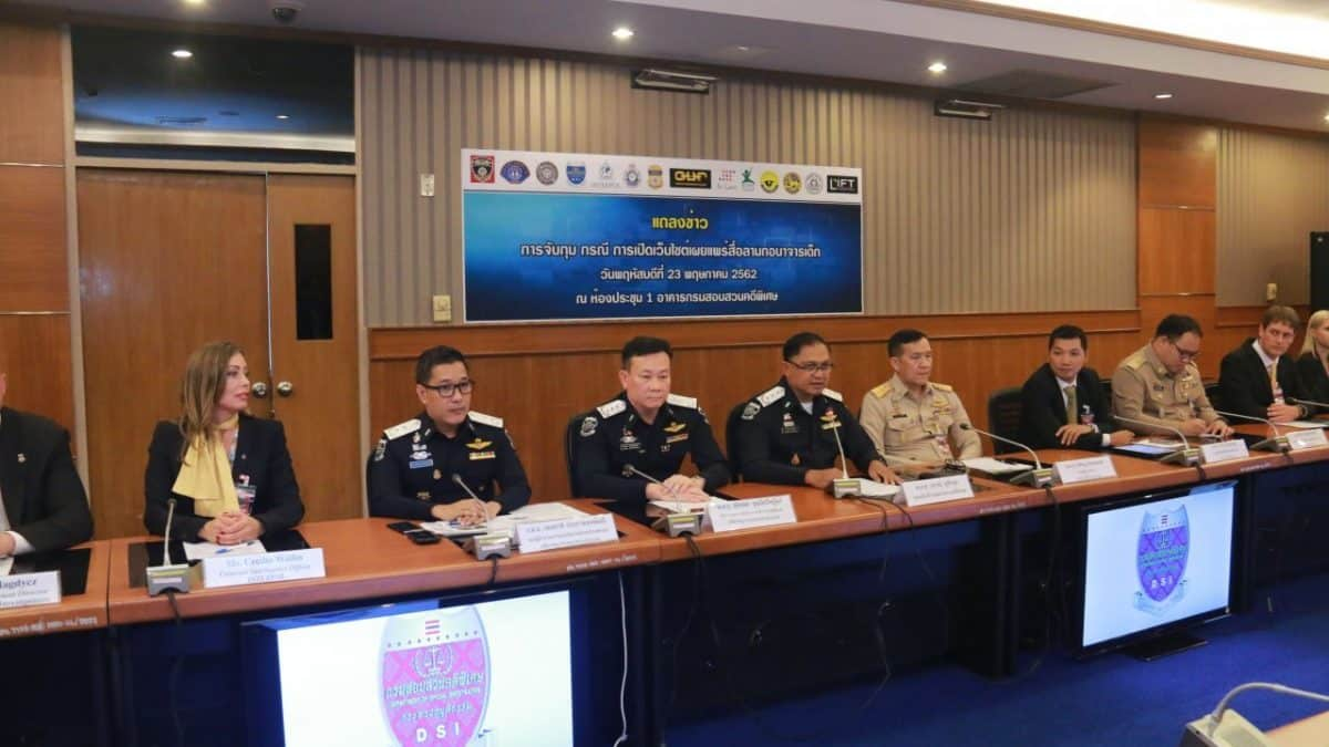 Thailand helps Interpol nail child sex predators
