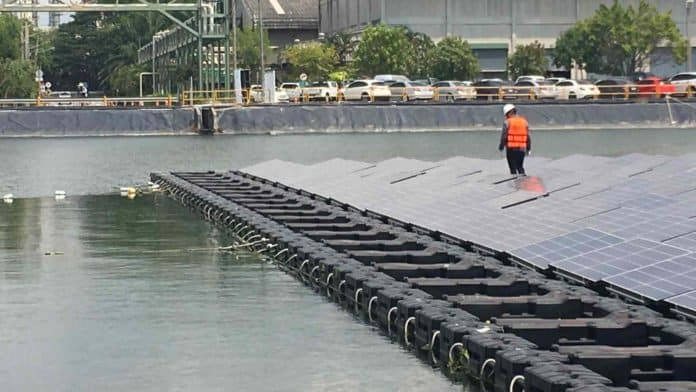 Thailand plans to build world's biggest network of floating solar farms
