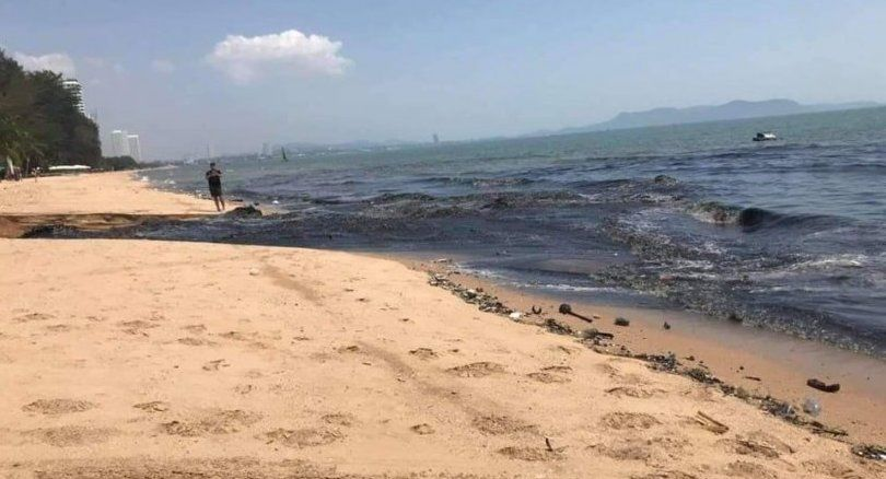 This is how Pattaya officials STOPPED black water beach pollution