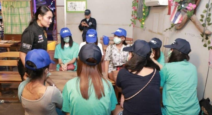 Udon Thani nightspot raid with underage girls might belong to local cop's wife